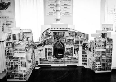 Černobylská elektrárna - Model 4.bloku