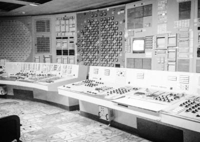Černobylská elektrárna - Řídící velín 2 bloku