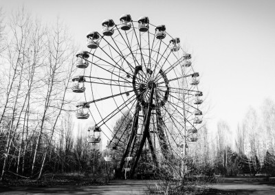 Město Pripjať - Ruské kolo
