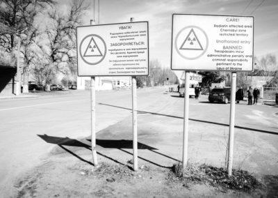 Ditjakti - vstupní brána do Černobylu