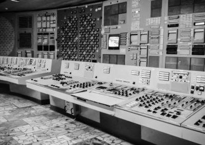 Černobylská elektrárna - velín 2.bloku