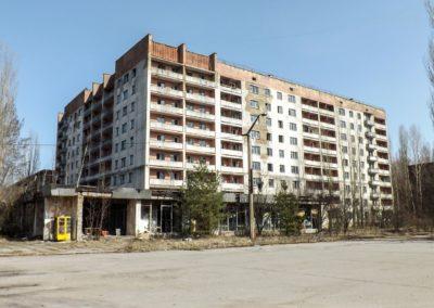 Město Pripjať - dům prominentů