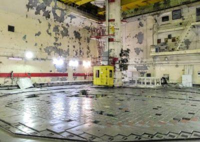 Černobylská jaderná elektrárna - reaktorový sál (speciální soukromá exkurze)